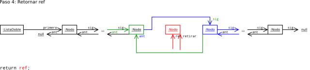ListaDoblementeEncadenada-retirar-algoritmo-4